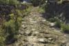 Ausgetrocknetes Nafla Flussbett in Feldkirch-Altenstadt